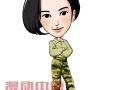 我是特种兵之火凤凰特战队员集体卡通形象亮相