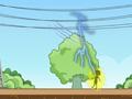 高压线下话安全系列动漫 - 高压线下禁种树